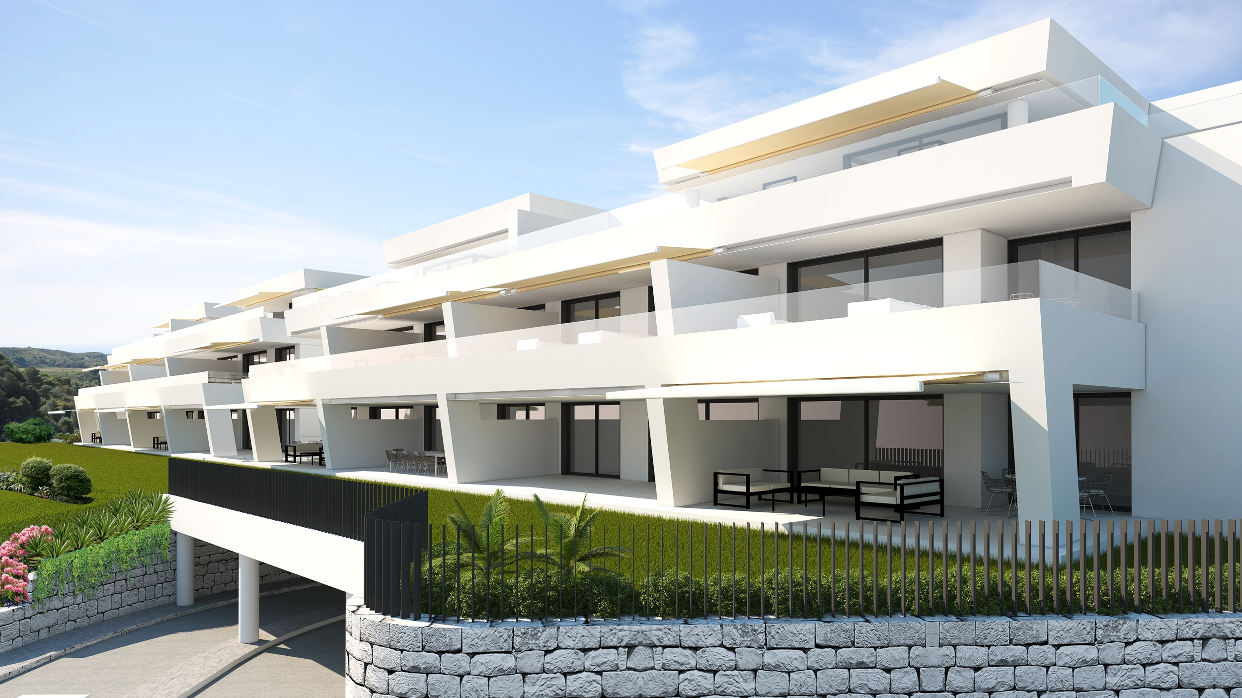 CONTEMPORARY ARCHITECTURE IN A NATURAL ENVIRONMENT FROM 575.000€