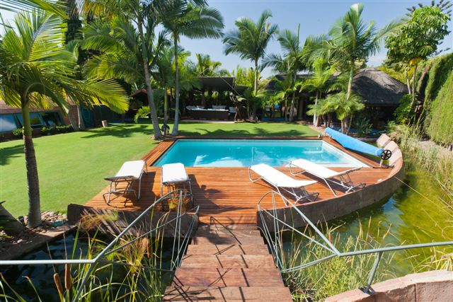 UNIQUE VILLA AVAILABLE FOR LONG TERM RENTAL FROM 1st JULY 5.500€ P.C.M.