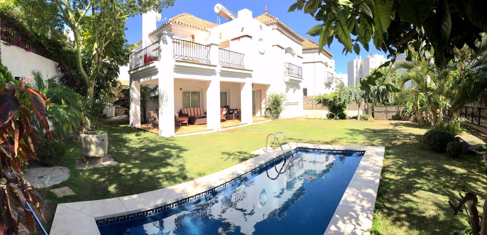 Lovely Villa in the Centre of Marbella For Long Term Rental WAS 5.500€ NOW 4.750€